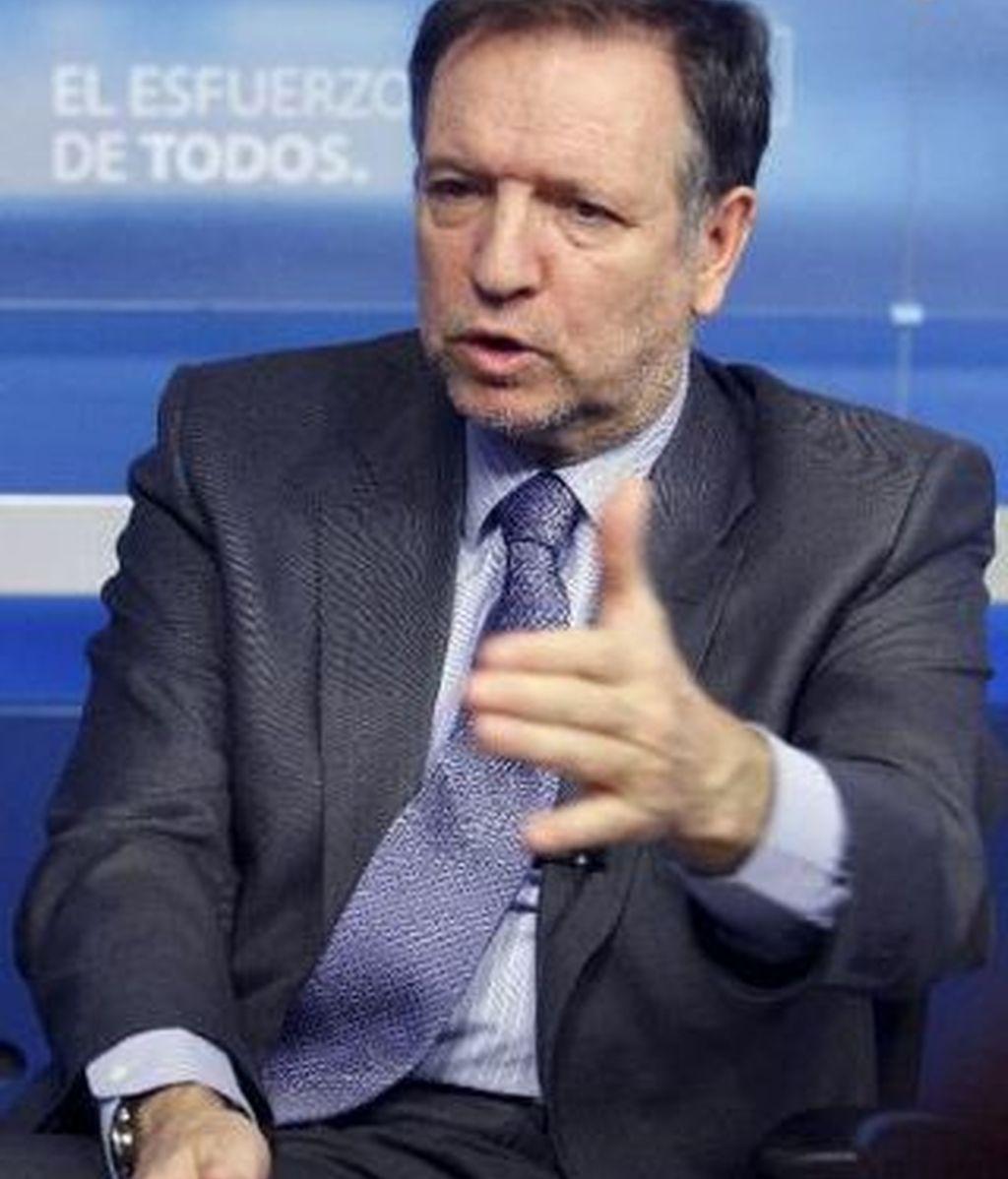 Marcelino Iglesias, el jefe del PSOE. Foto: EFE.