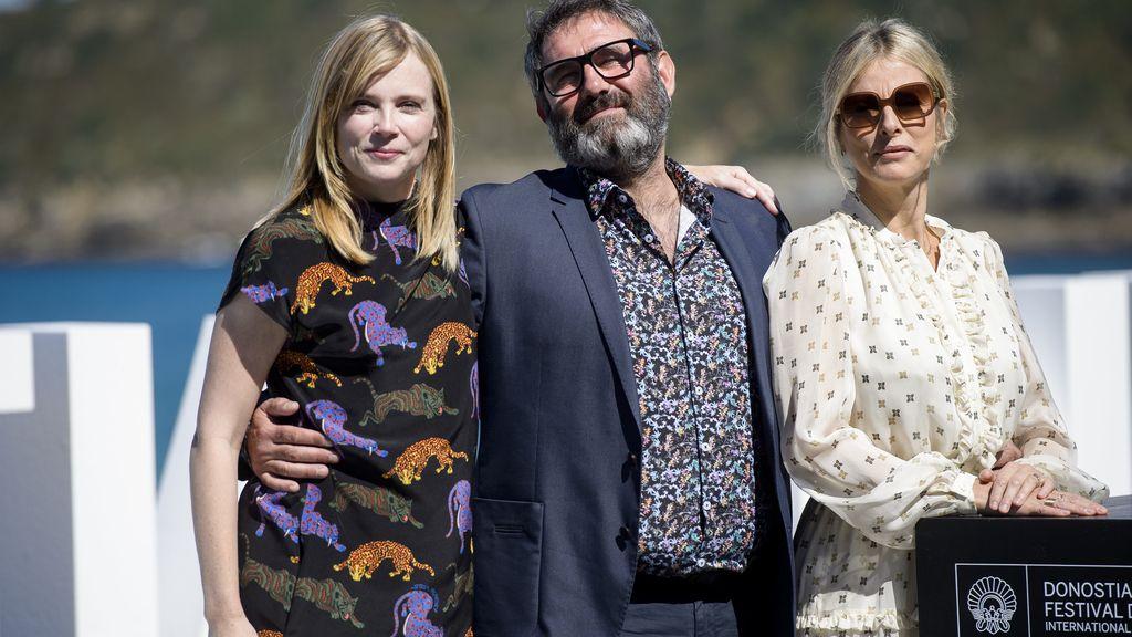 """Los actores Isabelle Corré, Karin Viard y Sergi López han presentado """"21 noches con Pattie"""""""