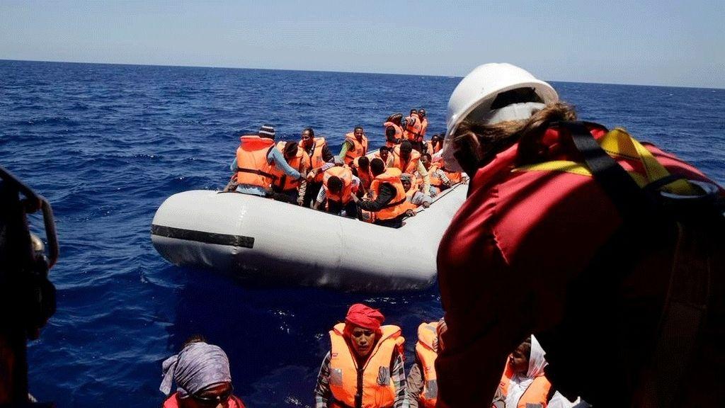Un nuevo salvamento de MSF rescata a 204 personas en el Mediterráneo