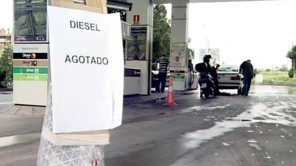 Gasolineras sin combustible