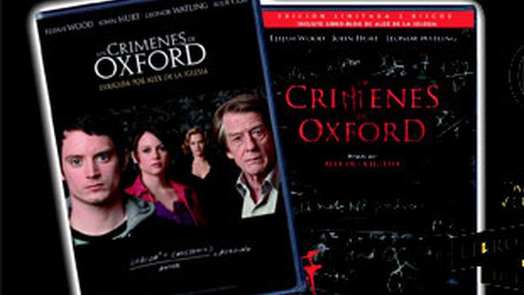 'Los crímenes de Oxford' en dvd