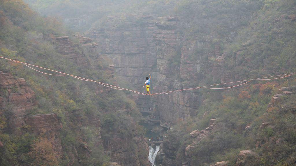 El poder de andar entre montañas