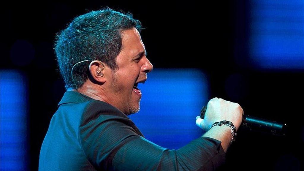 El cantante español Alejandro Sanz en la edición 52 Festival Internacional de la Canción de Viña del Mar, al noreste de Santiago (Chile). EFE/Archivo