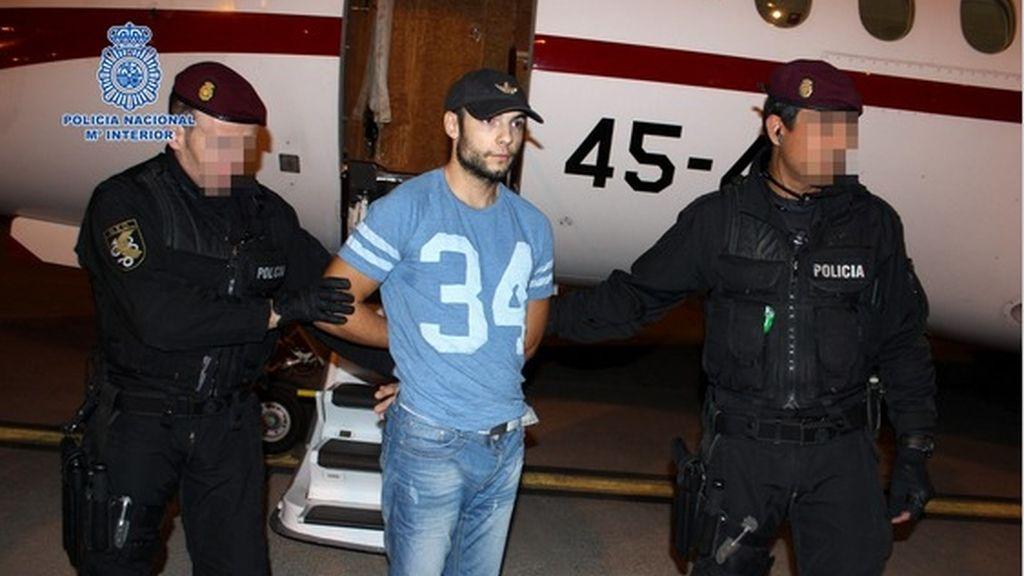 El amigo colombiano de Morate niega a la Policía que le ayudase a mover los cadáveres