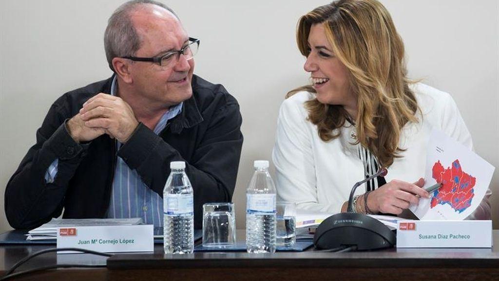 Susana Díaz y Juan Cornejo