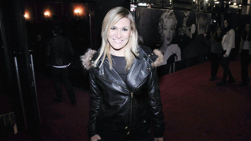 Yolanda Jiménez coincidió en el cine Callao con su ex Rafael Amargo