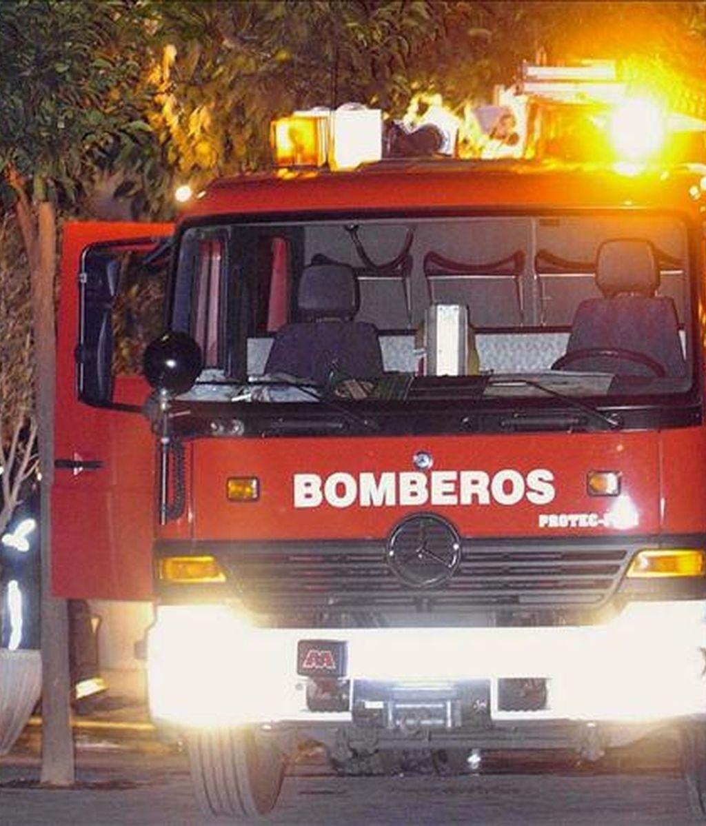 Un camión de bomberos en un suceso. EFE/Archivo
