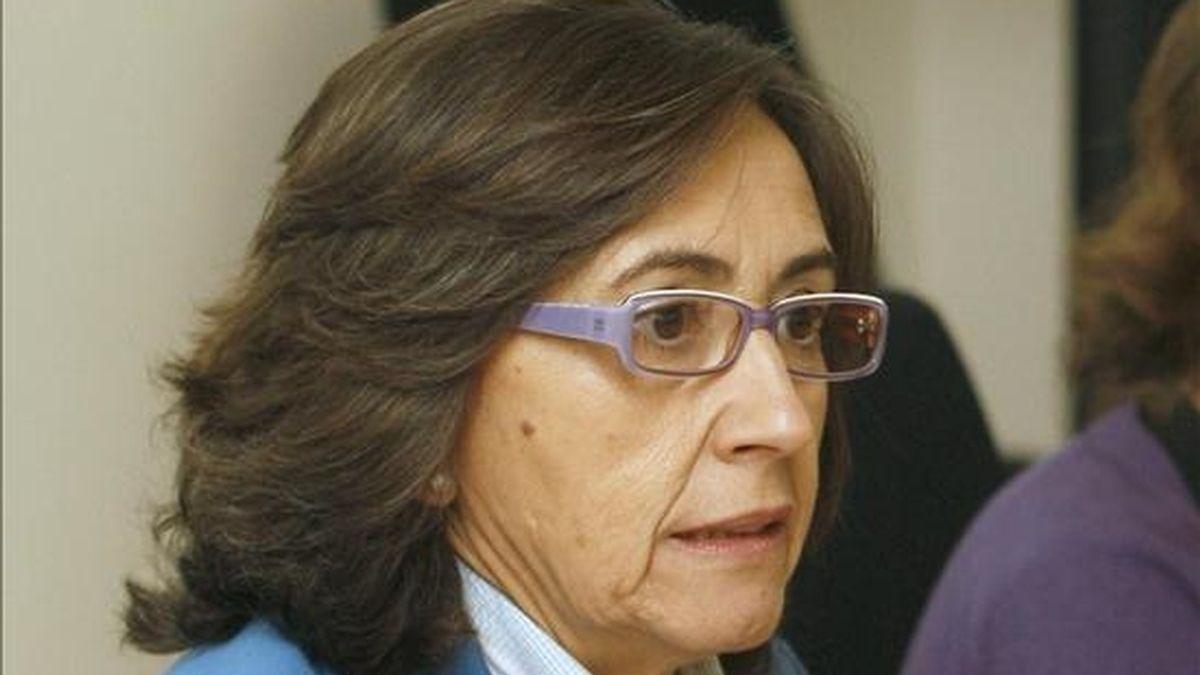 La ministra de Medio Rural, Medio Ambiente y Medio Marino, Rosa Aguilar. EFE/Archivo