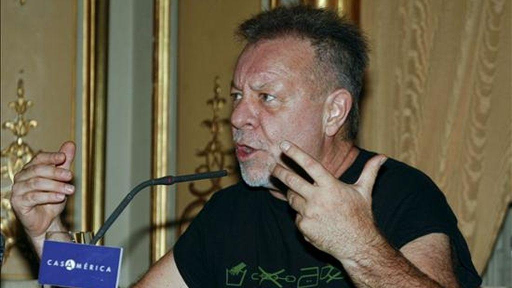 El cineasta y músico argentino León Gieco. EFE