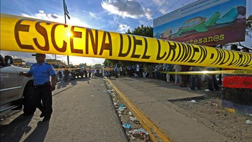 """""""El reporte horrendo y triste es que se encontró el niño, pero se encontró sin vida"""", dijo a periodistas el fiscal general de Colombia, Mario Iguarán. EFE/Archivo"""