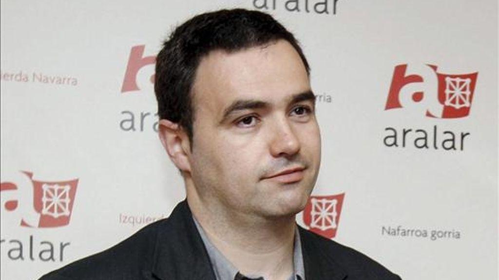 El vicecoordinador de Aralar, Jon Abril. EFE/Archivo
