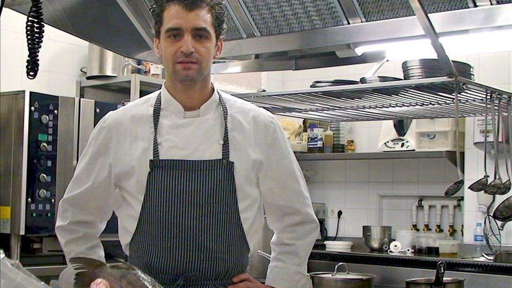 El chef sevillano Julio Fernández. EFE/Archivo