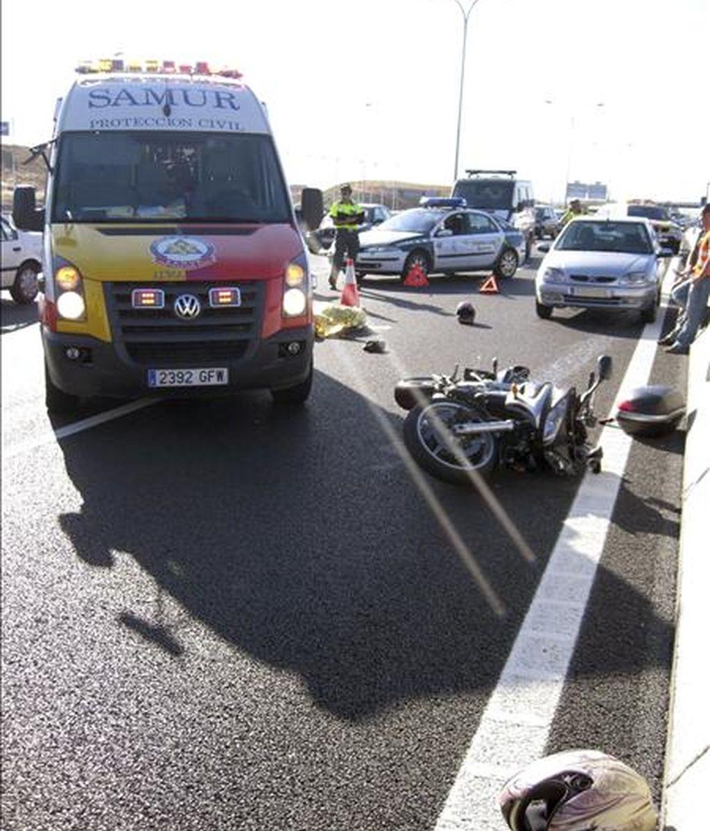 Habrá más controles por parte de la DGT a los motoristas. Video: Informativos Telecinco.