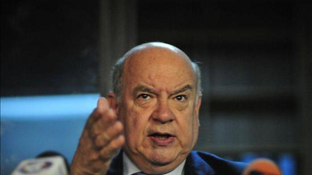 En la imagen, el secretario general de la Organización de Estados Americanos (OEA), José Miguel Insulza. EFE/Archivo