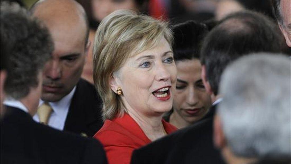 """Las actividades que Clinton tenía previstas para hoy han sido canceladas pero el Departamento de Estado ha indicado que la secretaria de Estado regresará a sus funciones """"pronto"""". EFE/Archivo"""