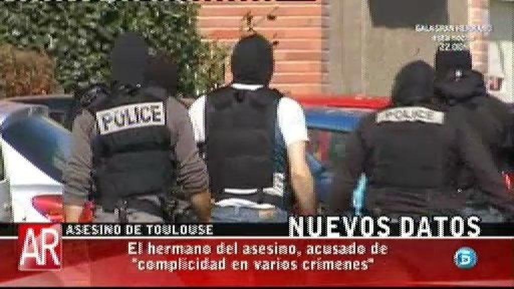 El hermano del asesino de Toulouse, acusado de complicidad en varios crímenes