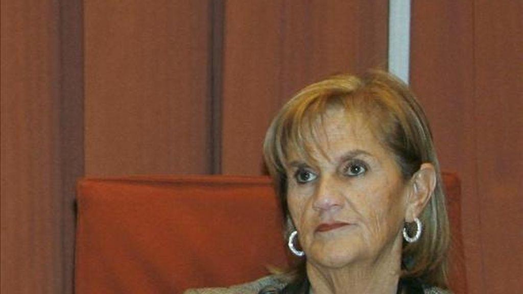 La socialcristiana Núria de Gispert se convertirá dentro de dos semanas en la primera mujer que preside el Parlamento de Cataluña, a propuesta de CiU y sin que ningún grupo ponga trabas a su elección ni proponga a un candidato alternativo. EFE/Archivo