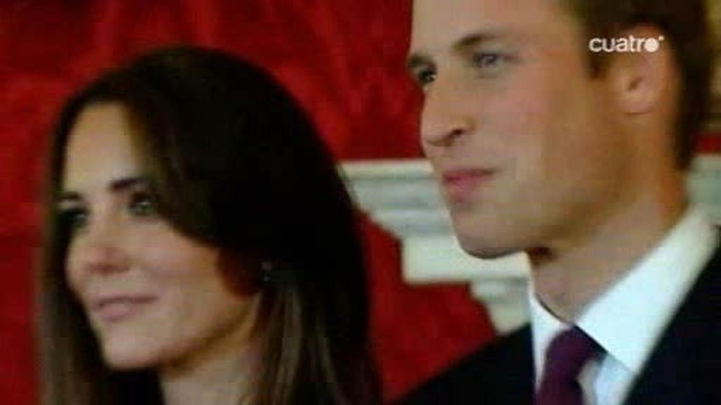 Guillermo de Inglaterra anuncia su boda con Kate Middleton