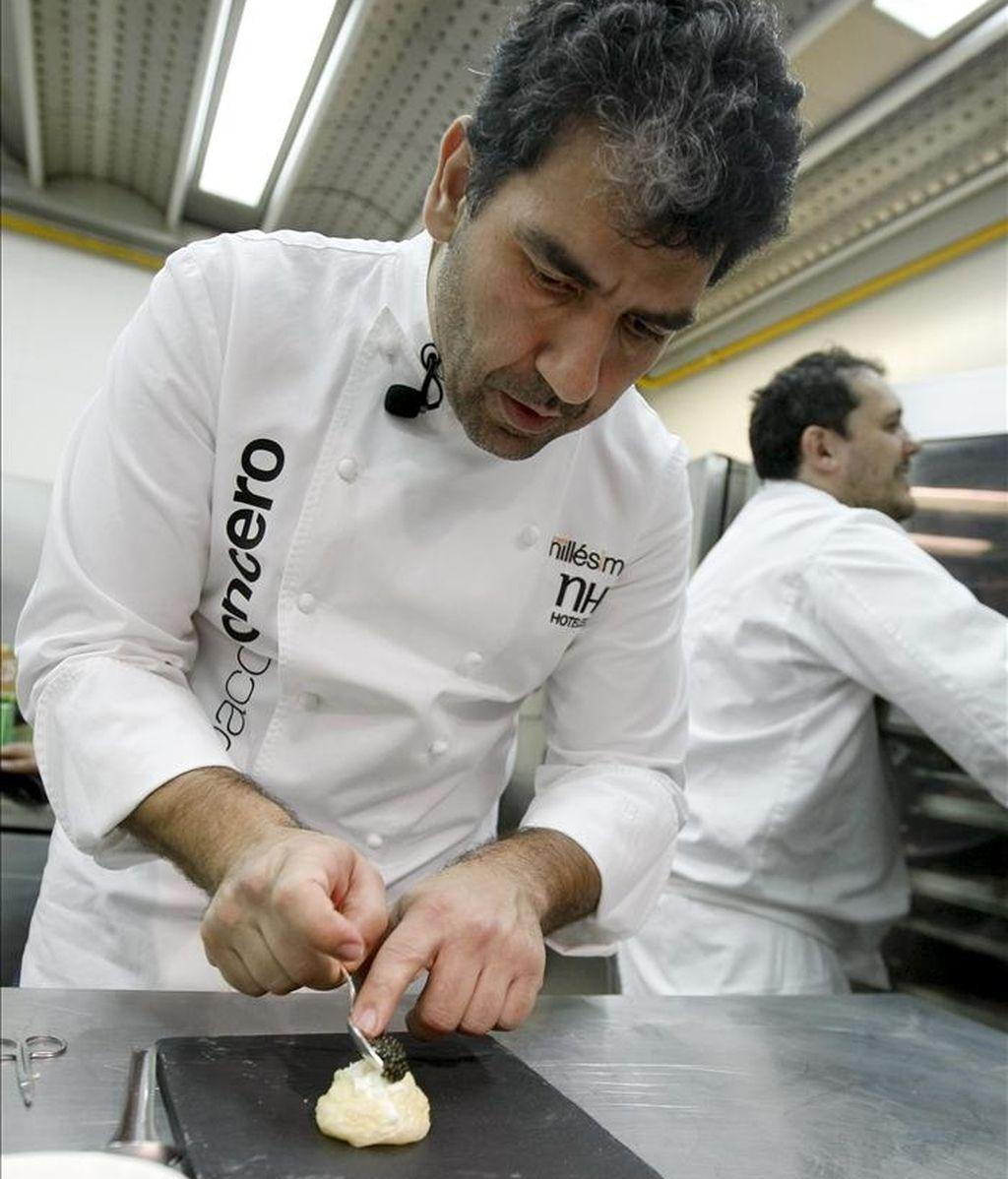 El cocinero Paco Roncero. EFE/Archivo