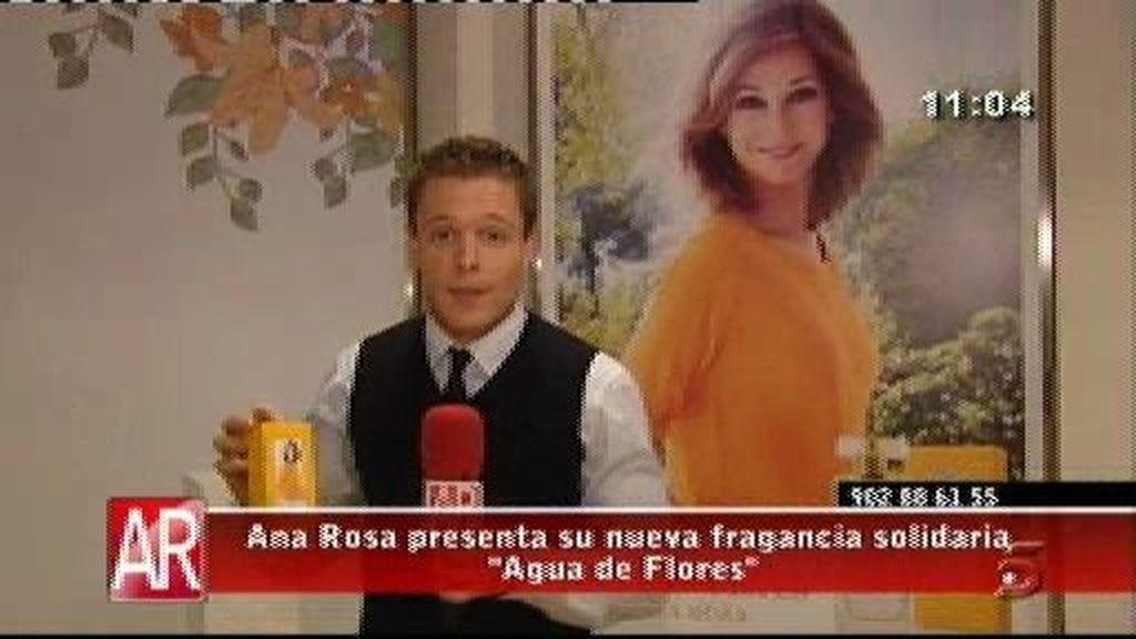 Ana Rosa presenta su nuevo perfume