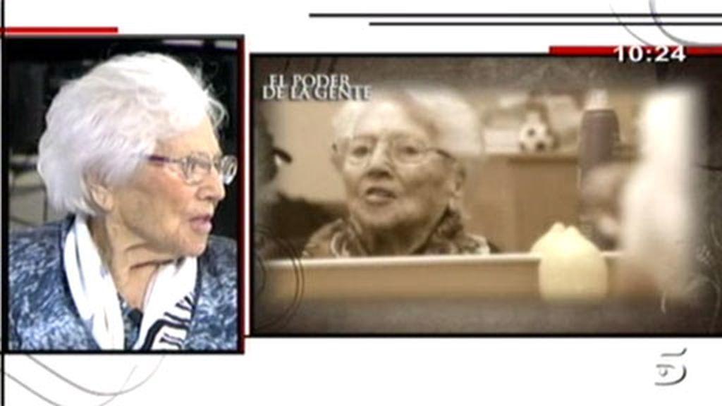 Isabel cumple 105 años