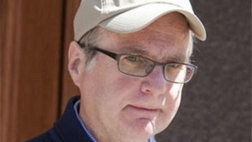 Imagen de archivo de este verano del cofundador de Microsoft, Paul Allen. Foto: AP.