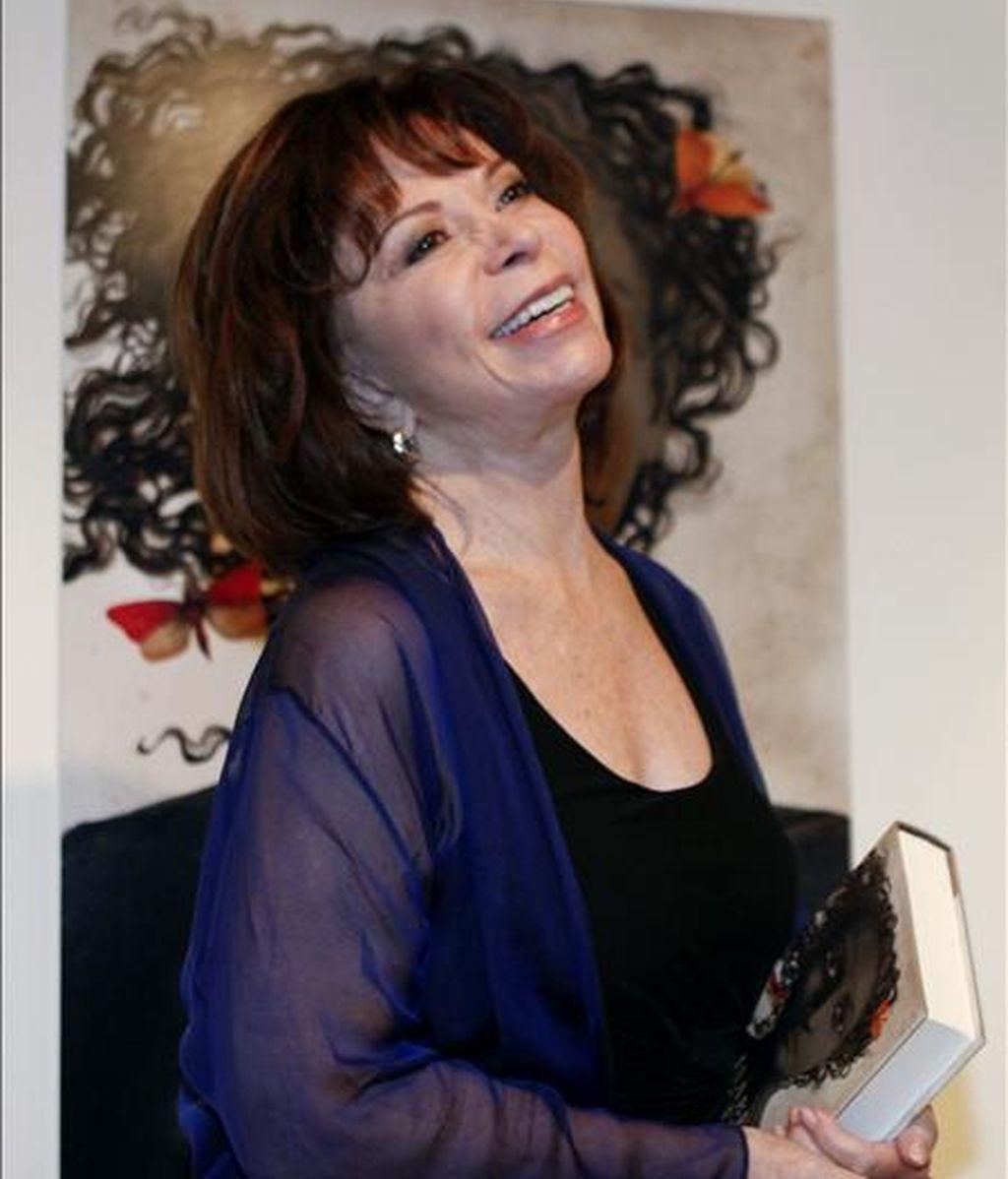 """Autora de """"La Casa de los Espíritus"""", su novela más famosa, Isabel Allende ha vendido más de 56 millones de libros en todo el mundo y es considerada uno de los máximos exponentes de la literatura latinoamericana contemporánea. EFE/Archivo"""