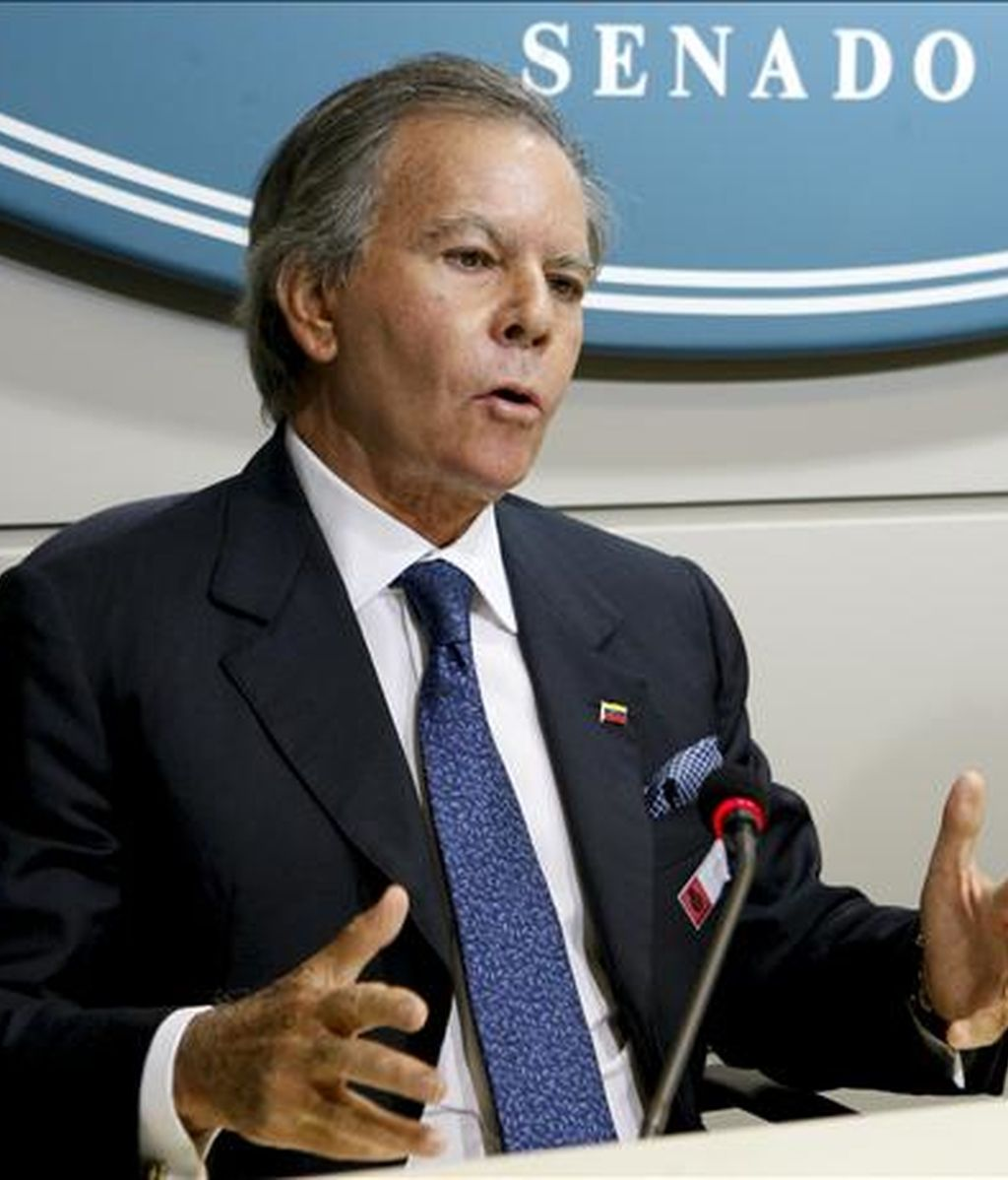 El diplomático venezolano Diego Arria. EFE/Archivo
