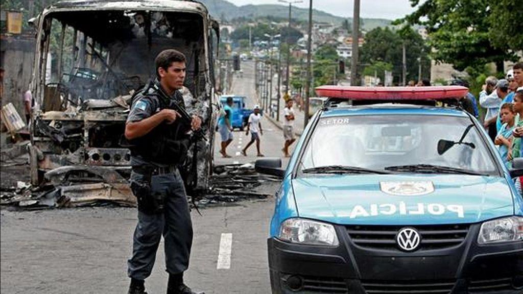 Guerra a la delincuencia en Brasil. Vídeo: Informativos Telecinco
