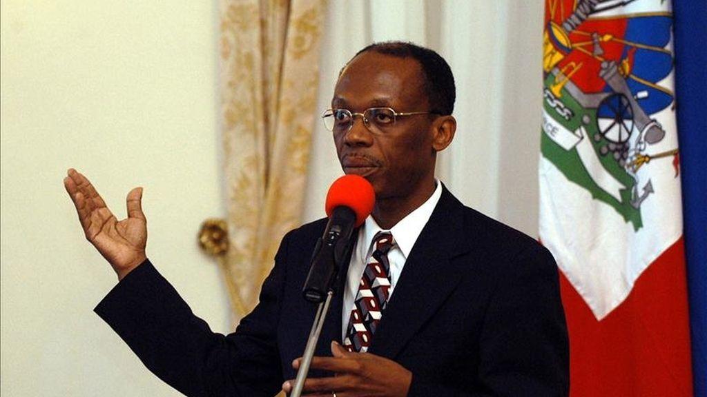 Los partidarios de Jean-Bertrand Aristide han realizado desde hace unas semanas manifestaciones y concentraciones frente a oficinas públicas para exigir un pasaporte diplomático para el exgobernante. EFE/Archivo