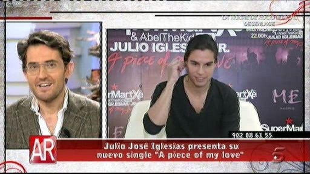 Julio José Iglesias presenta nuevo single, 'A piece of my love'