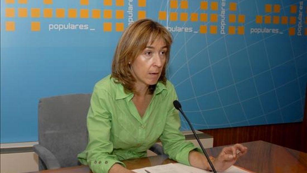 La portavoz del PP en las Cortes, Ana Guarinos. EFE/Archivo