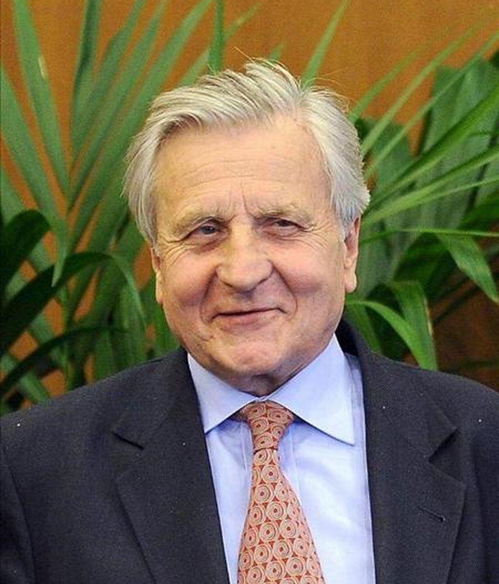 En la imagen, el presidente del Banco Central Europeo (BCE), Jean-Claude Trichet. EFE/Archivo