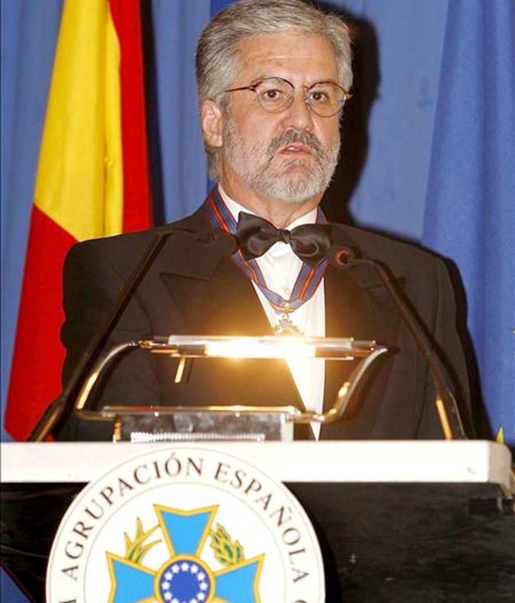 El presidente de la Fundación Iberdrola y ex presidente del Congreso de los Diputados, Manuel Marín. EFE/Archivo