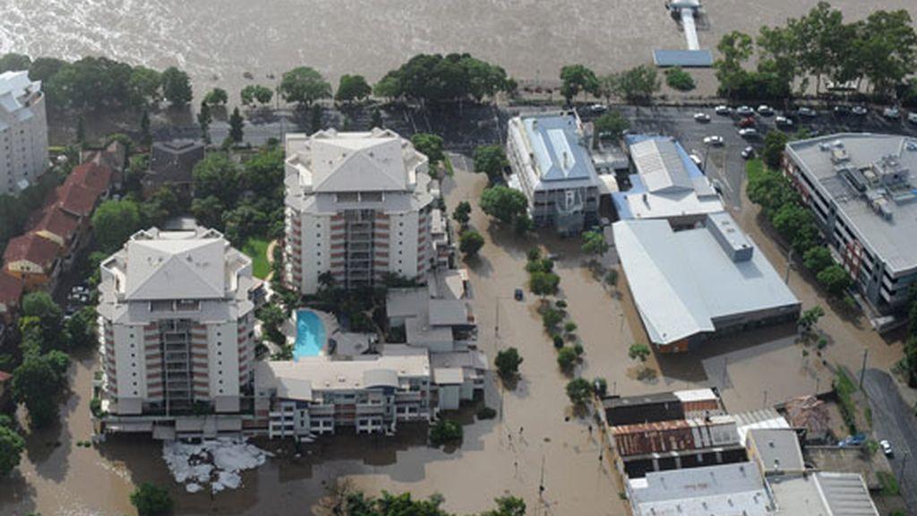 Brisbane bajo las aguas