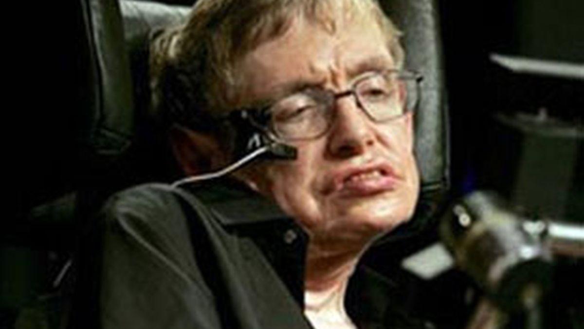 Imagen de archivo del científico británico, Stephen Hawking. Foto: EFE.