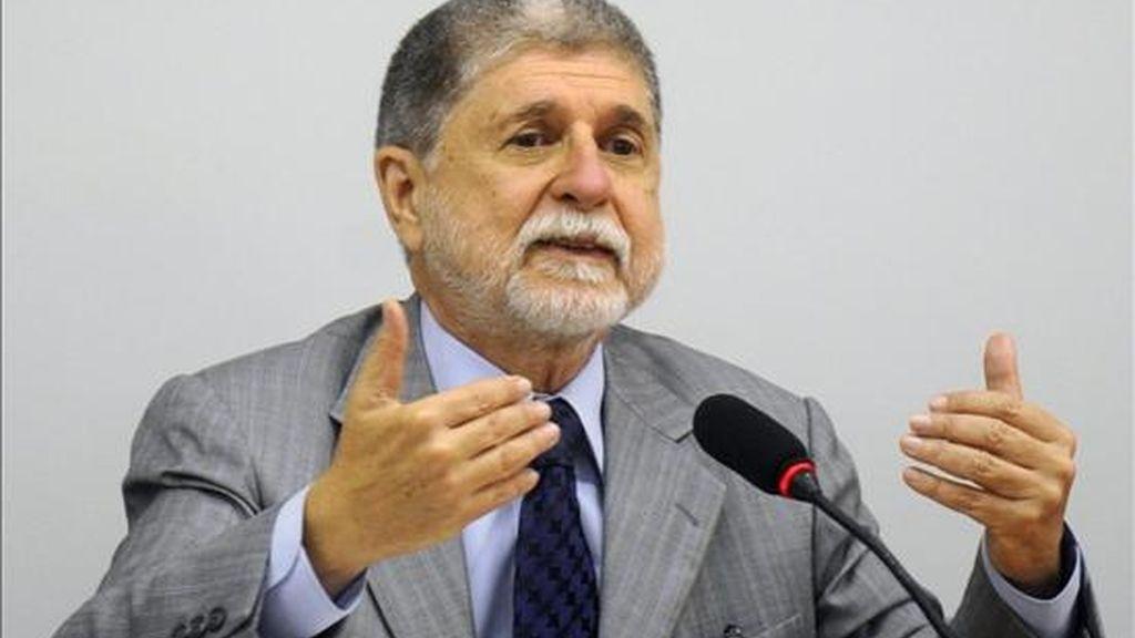 """Amorim expresó su gusto por """"estar acá en Cartagena"""", en donde tiene previsto, además de la agenda de trabajo, una cena privada con el ministro de Exteriores colombiano. EFE/Archivo"""