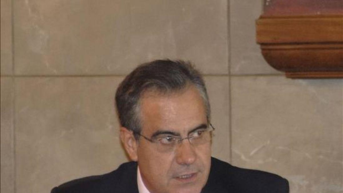 En la imagen, el ministro de Trabajo e Inmigración, Celestino Corbacho. EFE/Archivo