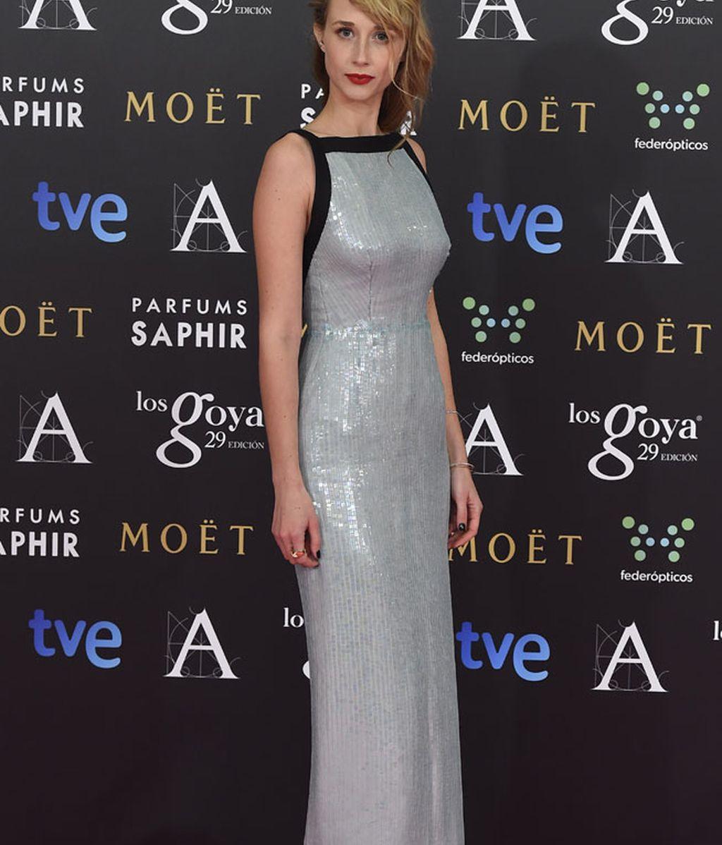Ingrid García Jonsson con vestido de Lorenzo Caprile y zapatos de Lodi