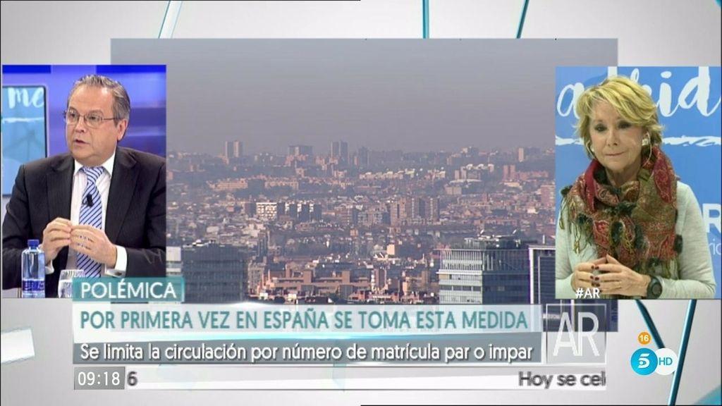 """Aguirre: """"Si hubiera seguido gobernando el PP, me hubiera tocado aplicar ese protocolo"""""""