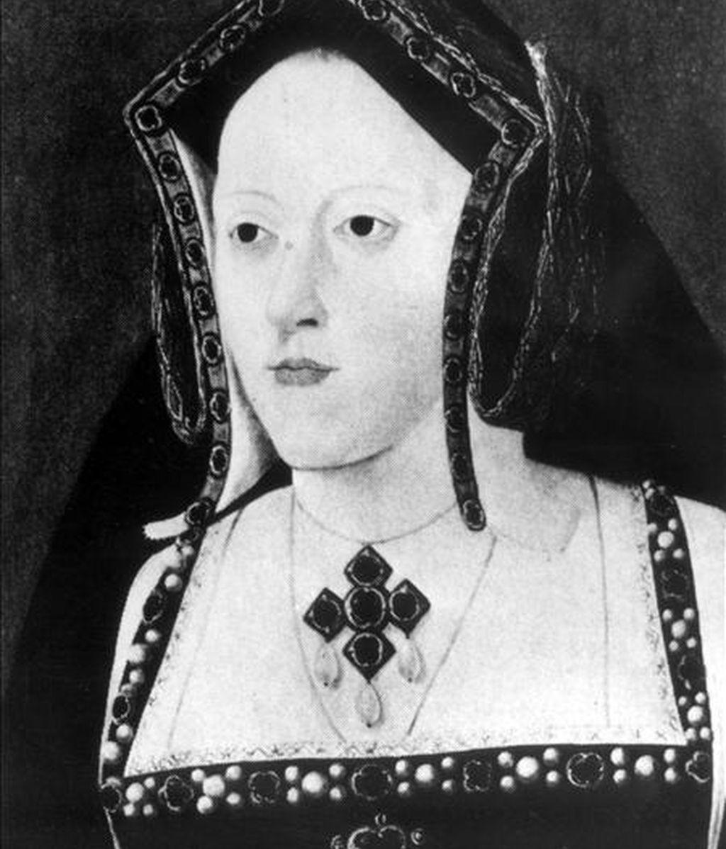 Retrato de Catalina de Aragón, primera esposa del rey Enrique VIII de Inglaterra. Esta princesa española nacida en Alcalá de Henares era hija de los Reyes Católicos y reina consorte de Inglaterra. EFE/Archivo