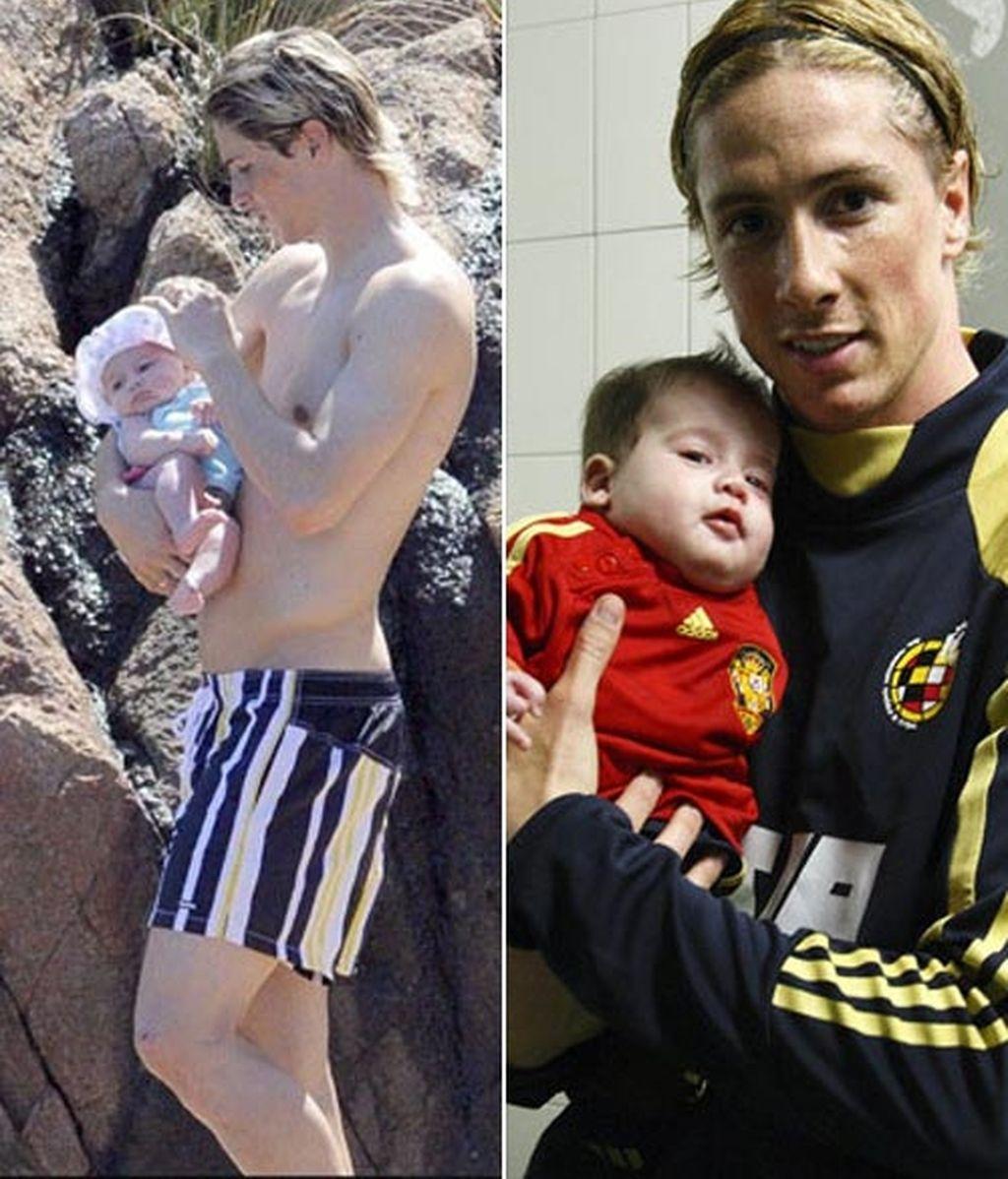 Fernando Torres acaba de tener su segundo hijo