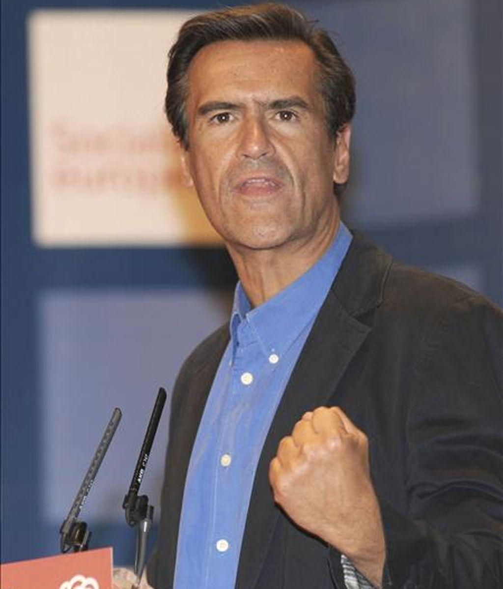 El cabeza de lista del PSOE a las Elecciones Europeas, Juan Fernando López Aguilar. EFE/Archivo