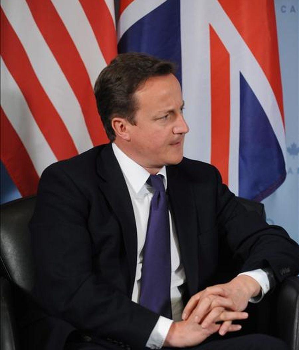 El primer ministro del Reino Unido, David Cameron. EFE/Archivo