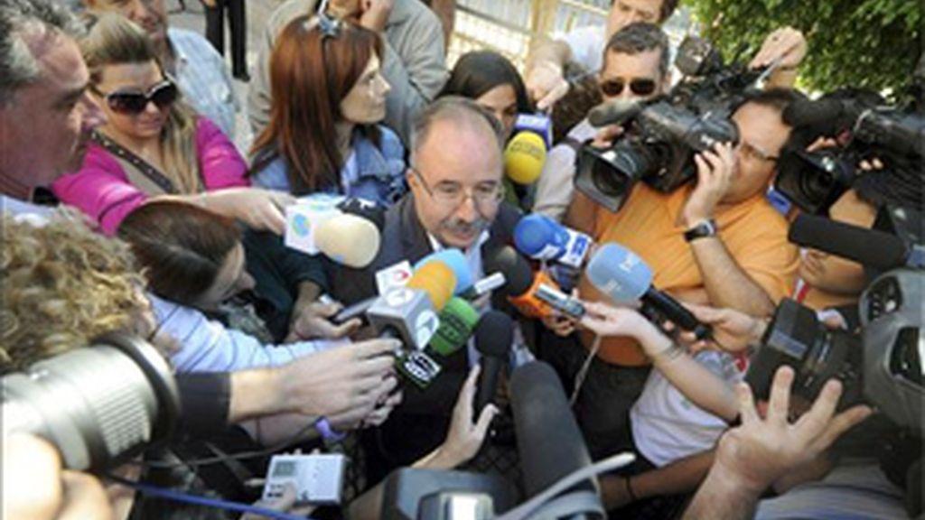 Fernando Berberena, concejal de Urbanismo del Ayuntamiento de Murcia. Foto: EFE