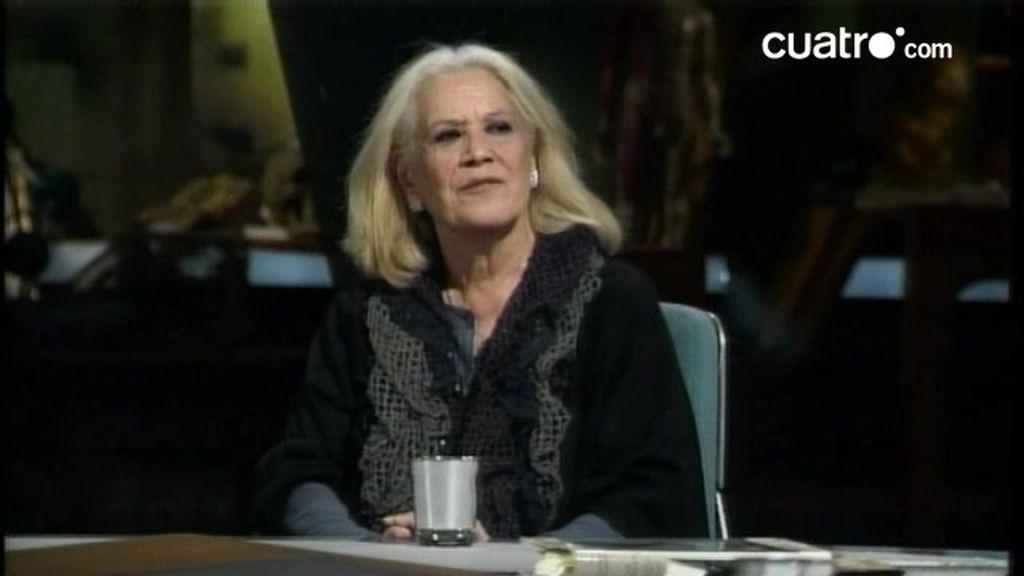 Terele Pávez explica sus impresiones sobre la envenenadora de Valencia