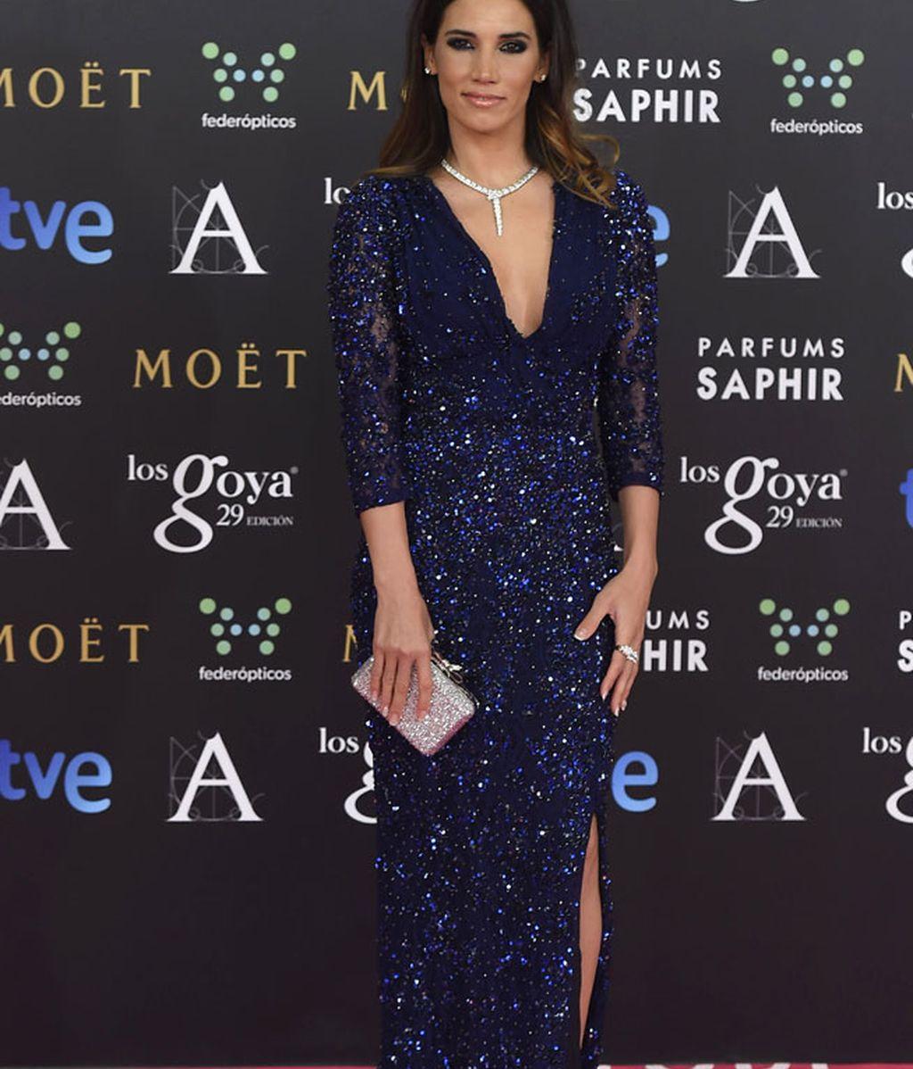 India Martínez con vestido de Blumarine
