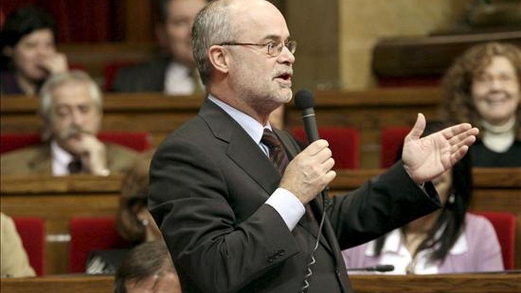 El conseller de Economía y Financiación, Antoni Castells. EFE/Archivo
