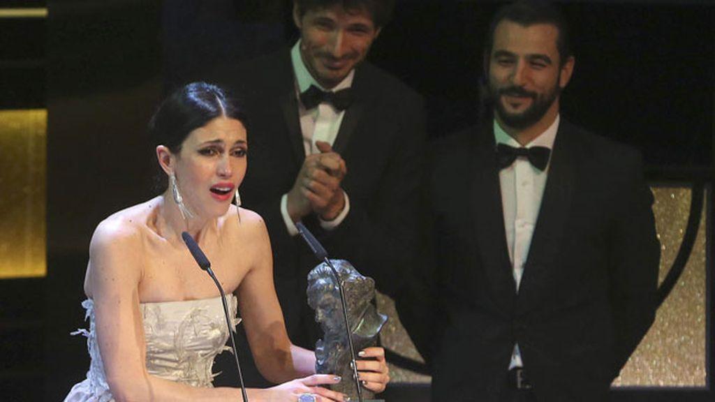 Nerea Barros, Goya a la mejor actriz revelación por su interpretación en 'La isla mínima'