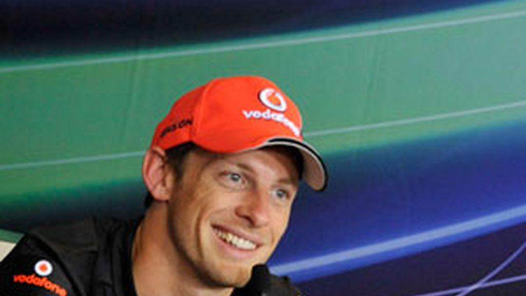 Jenson Button en una foto de archivo. Foto: GTres